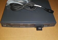 CISCO 887G  C887G-K9 ISR ROUTER WITH PSU AND PCEX-3G-HSPA-G