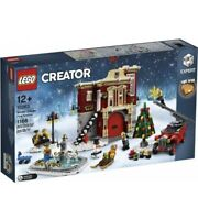 Lego Creator Winter Village Fire Station (10263) Building Kit 1166 Pcs