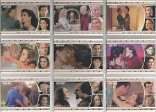 "Star Trek TNG H&V - ""TNG Romance"" Set of 18 Chase Cards #L1-18"