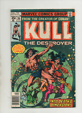 Kull The Conqueror #26 - Into Death's Dimension - (Grade 7.5) 1978
