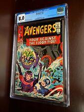 Avengers #27 (1966) / CGC 8.0 / Attuma & Beetle appearance / Silver age comic