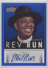 2015 Panini Americana Blue Signatures Autographed #S-RUN Rev Run /49 Auto 0h1