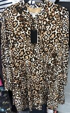 Whistles Animal Print Shirt Dress UK Size 10