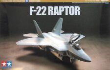 60763 Tamiya 1/72 Model Kit USAF F-22 Raptor
