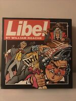 Libel - Vintage William Roache (Coronation Street) Board Game (1994) VGC