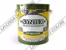 LECHLER - SYNTEX HP SATINATO - TINTE RAL - 3 lt - SMALTO SINTETICO