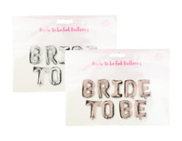 🔥Bride To Be Foil Balloon Wedding Bridal Shower Hen Do Engagement Party Decor
