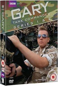 Gary Tank Commander - Series 1 and 2 Box Set (DVD) Greg McHugh (BBC)