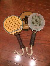 ☀️ 2 Marcraft Aluminum Frame Marc III & Super Sorba Paddle Ball Racquets