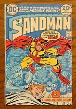 Sandman #1 Dc Comics 1974 Joe Simon & Jack Kirby First Issue Origin