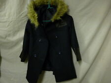 WHOLESALE, JOBLOT of 22 Girls Coat, Hooded ex. High Street store Faux Fur