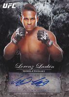 2014 Topps UFC Bloodlines Fighter Autographs #FALL Lorenz Larkin Auto #/245