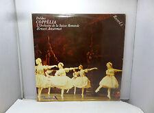 DELIDES COPPELIA L'ORCHESTRE DE LA SUISSE ROMANDE SDD372 DECCA  LP  VINYL