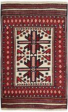 3144 # Unique Handmade Anatolian Turkish Oriental Kelim 100% Wool 187 x 118 cm