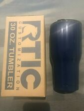 RTIC 30 oz Tumbler/with lid - Navy - NEW in box - Free Shipping!