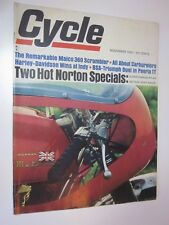 1967 Cycle Magazine November issue Supercharged Atlas Metisse Road Racer