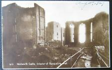 Uk~England~1920's Kenilworth ~ Kenilworth Castle~ Banqueting Hall~ Rppc