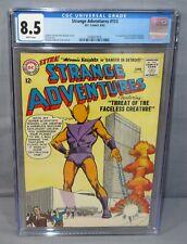 STRANGE ADVENTURES #153 (Faceless Creature 3rd app) CGC 8.5 VF+ DC Comics 1963