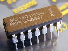 10x mc14012bcl DUAL 4-INPUT NAND GATE del, Motorola