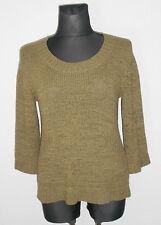 FABIANI Damen Strick Pullover Oberteil Hüftlang Gr.L 42/44 grün   ##R5