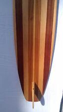 WOOD LONGBOARD SURFBOARD WALLART VINTAGE SURF SIGN WALL ART SURF BEACH DECOR