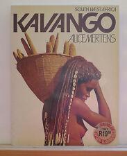 Kavango: South West Africa 1987 Mertens Photobook Tribes Costumes Crafts