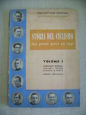 LIBRO STORIA DEL CICLISMO  - SPARTAZZA MONCADA 1952 COPPI BARTALI MAGNI MARTINI