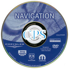 2008 Chrysler Pacifica Jeep Patriot Compass Navigation CD Map 2012 Update AK