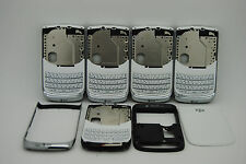 LOT of 1 OEM Blackberry torch 9800 White 4pc back housing REF USA seller