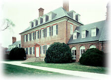 Carter's Grove Plantation - architectural home plans, colonial brick mansion