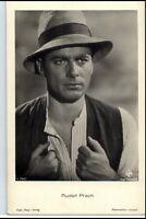 ~ 1950/60 Porträt-AK Film Bühne Theater Schauspieler RUDOLF PRACK Ufa-Foto-AK