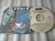 CD-PATRICK JUVET-AMNESIA-DEEP DARK NIGHT-TRANCE MIX-RADIO-(CD SINGLE)93-2TRACK