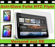3x ANTI REFLEX Glare Display Schutz Folie f. HTC Tablet Tab Flyer matt Protector