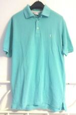 YSL YVES SAINT LAURENT Mens Casual Polo Golf Tennis T Shirt Logo Green Size S