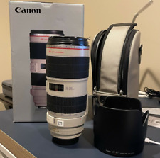 Canon EF 70-200mm F/2.8 IS II usm lens Great Condition