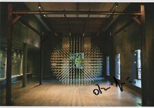 "Arin rungjang ""documenta 14"" autógrafo signed 13x18 cm imagen"