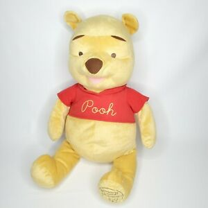 Disney Large Winnie the Pooh Bear Celebrating 80 Years of Friendship Plush - 24""