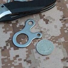 Multi-purpose Survival Outdoor EDC Tool Tools 3 Hole Knotting Buckle