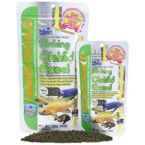 Hikari Sinking Cichlid Excel Mini Pellet Food  Free Shipping