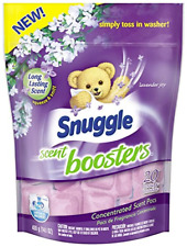Snuggle Laundry Scent Boosters Concentrated Scent Pacs, Lavender Joy, Pouch, 20