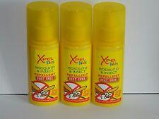 3 X 120ML  DEET FREE XPEL KIDS CHILDREN'S  MOSQUITO INSECT REPELLENT