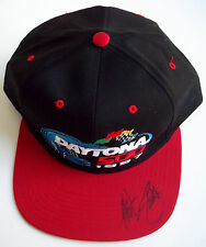 HUT STRICKLIN Signed Black 1997 DAYTONA 500 Cap Auto Autographed Hat GAI