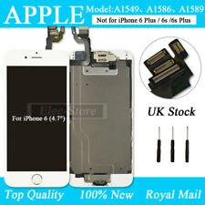 For iPhone 6 White Screen Replacement Digitizer LCD Touch Home Button Camera UK