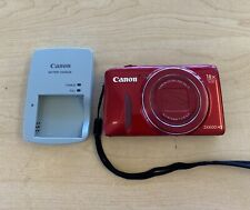Canon PowerShot SX600 HS 16.0MP Digital Wi-Fi Camera - Red