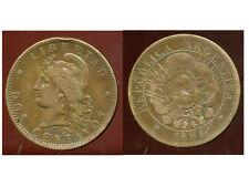 ARGENTINE 2 centavos 1884  ( 1 )  ( bis )