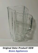 Oster Glass Blender Jar/Carafe Container Square Top 5 Cup  (OSTER OEM 4892)