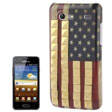 HardCase für Samsung i9070 Galaxy S Advance Flagge USA mit goldfarbenen Nieten