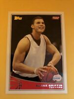 2009-10 Topps Blake Griffin #316 Rookie Card RC Brooklyn Nets Clippers Pistons