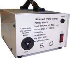 Isolation Transformer 1000w 240v - 240v shipped from Sydney ISO-1000ES Tortech