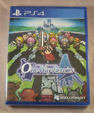Mystery Chronicle One Way Heroics Sony Playstation 4 PS4 New Limited Run LR